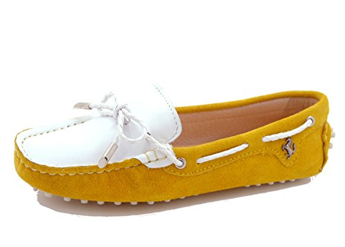 Minitoo , Damen Ballett Gelb/Weiß