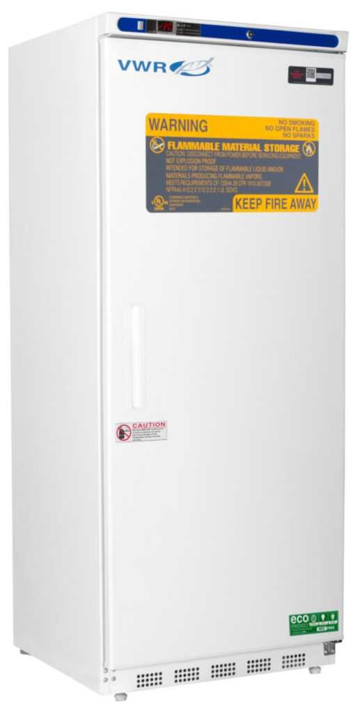 Flammable Storage Natural Refrigerant Freezer - VWR Flammable Storage Natural Refrigerant Freezer