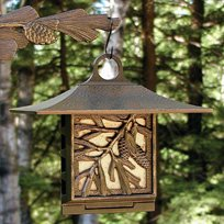Whitehall Products Pinecone Suet Feeder, Oil Rub Bronze