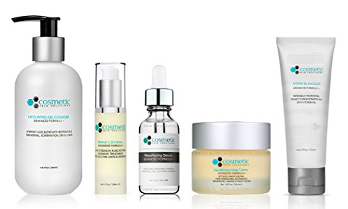 Cosmetic Skin Solutions  8-ounce Pore-Refining and Exfoliating Gel Cleanser Dermaheal - SR - Skin Rejuvenating Solution (Biological Sterilized Solution) - 10x5ml/0.17oz