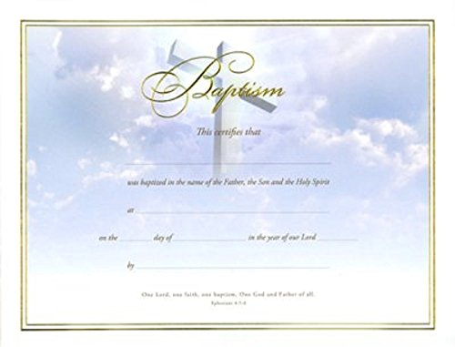 Baptism Certificate - 7