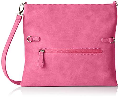Boscha Damen Clutch, Pink (Pink (Pink)), 1x14x29 cm