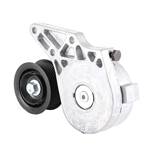 SCITOO Belt Tensioner with Pulley Fits 1992-1995 Volkswagen Corrado 1995-2002 Volkswagen Golf 1994-2002 Volkswagen Jetta 1993-1997 Volkswagen Passat