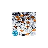 Amscan 368281.05 Confeti 2 1 /2oz Naranja