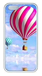 Balloon In The Sky 2 - iPhone 5S Case Funny Lovely Best Cool Customize White Cover
