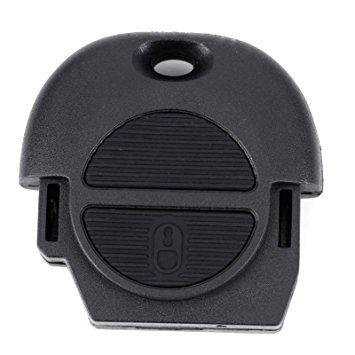 N2 Carcasa Llave Coche BOTONERA Nissan 2 Botones Compatible ...