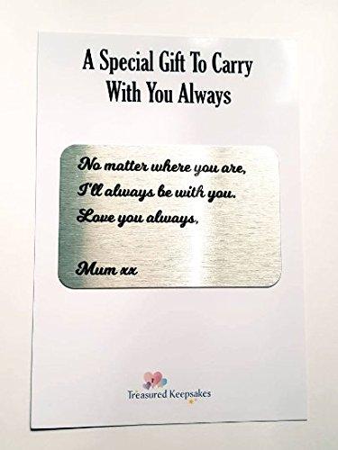 Personalizado cartera tarjeta, personalizable, regalo de ...