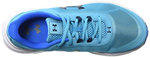 Under Armour Girls' Grade School Rave 2 Sneaker Alpine (301)/Blue Circuit 3.5 by Under Armour (Image #8)