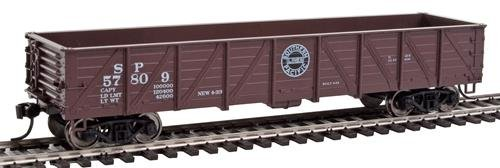 40' 50-Ton Drop-Bottom Gondola - Ready to Run -- Southern Pacific(TM) #56809 (Boxcar Red, Centered black Lines Logo) ()