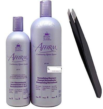 5 in 1 Reconstructor 16oz/ 475ml + Normalizing Shampoo 32oz/ 950ml+PROFESSIONAL TWEEZER