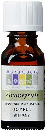 Aura Cacia 100% Pure Essential Oils - Grapefruit - 0.5 oz
