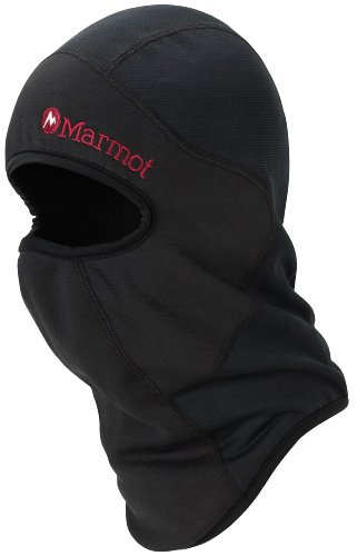 Marmot Men's Super Hero Balaclava, Black, One Size ()