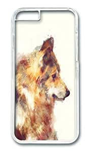 Apple Iphone 6 Case,WENJORS Adorable Wolf True Hard Case Protective Shell Cell Phone Cover For Apple Iphone 6 (4.7 Inch) - PC Transparent