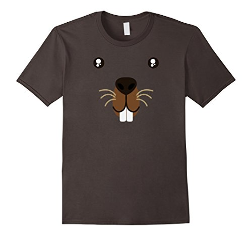 Price comparison product image Groundhog Day 2018 Cute Animal Face Costume T-Shirt