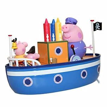 New Peppa Pig Grandpa Pig/'s Bathtime Boat