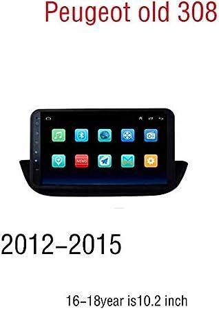 estéreo 9 Pulgadas de Coches Android 8.1 Radio Navegador GPS de Peugeot 308 Modelo Antiguo (2012-2015), 16-18 antilde;os es de 10,2 Pulgadas, WiFi,SWC, Espejo Enlace, multifuncioacute;n (2G + 32G): Amazon.es: Electrónica