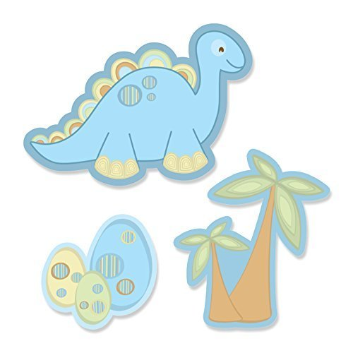 Baby Boy Dinosaur Shaped Cut Outs