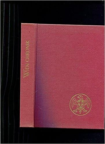 Wien Chronik Amazoncom Books