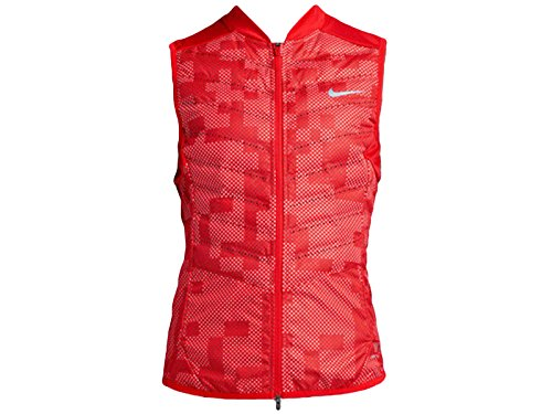Women's Nike Aeroloft Flash Running Vest Light Crimson 689260-696 (XS) by NIKE
