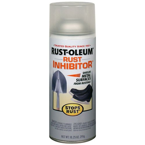 (Rust-Oleum 224284 Stops Rust Inhibitor 10.25-Ounce Spray, Clear)