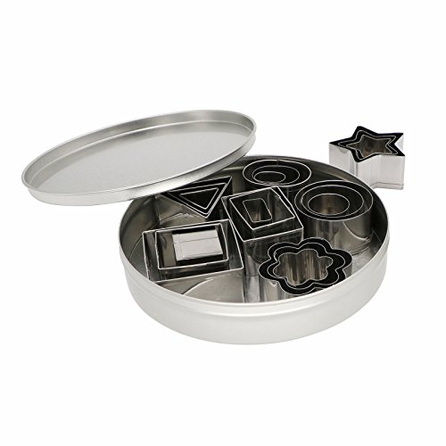 Tresbro Stainless Steel Christmas Cookie Cutters Set of