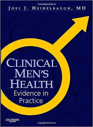 Book Clinical Men's Health: Evidence in Practice, 1e