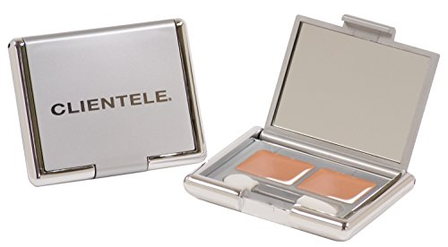Clientele Peptide Wrinkle Concealer Compact Tan