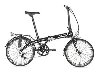 Dahon Vybe D7 Adultos Unisex Completo Aluminio Negro bicicletta - Bicicleta (Plegado, Completo,