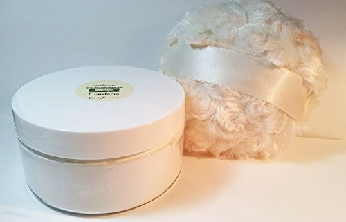 Patchouli Scented Silk Powder Boxed Gift Set - 8 oz Jar Silky Powder and Silky Tan Powder Puff