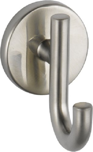 Delta Faucet 75935-SS Trinsic Robe Hook, Brilliance Stainless Steel
