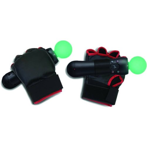 Generic Combat Boxing Gloves PS Move Motion Controller Co...