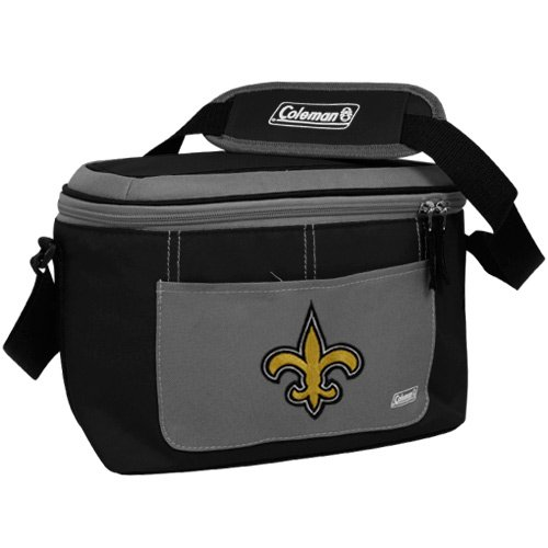 New Orleans Saints Soft Football (NFL New Orleans Saints 12 Can Soft Sided Cooler)
