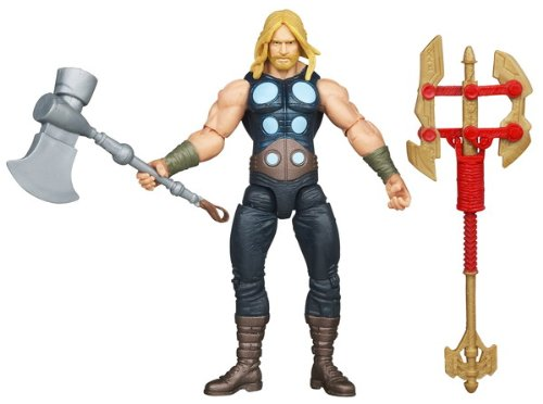 The Avengers 2012 Comic Series Battle Hammer Thor 4 inch Action Figure by Hasbro]()