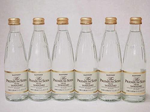 プレミアムソーダ 山崎の天然水でつくったソーダ サントリー 瓶240ml×6
