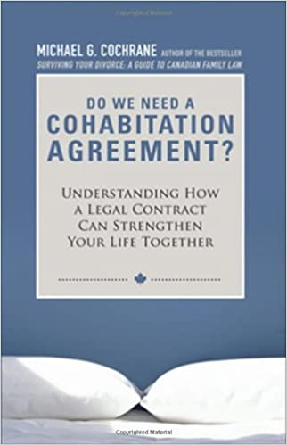Do we need a cohabitation agreement understanding how a legal do we need a cohabitation agreement understanding how a legal contract can strengthen your life together michael g cochrane 9780470737507 amazon platinumwayz