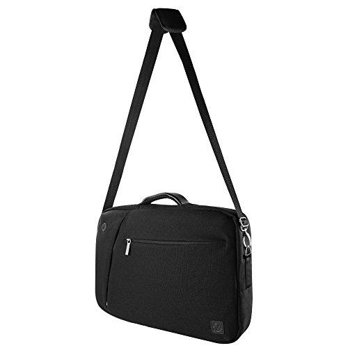 Fashion Travel Notebook Laptop Bag Messenger Bag Briefcase 10.1 / 11.6 / 12.5 for Acer Aspire / One / Chromebook / Fujitsu Stylistic / Lifebook schwarz