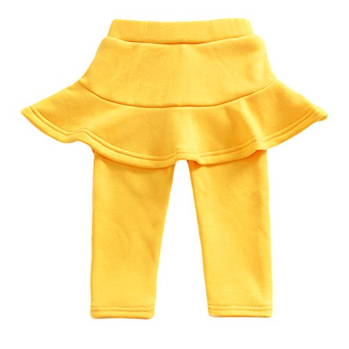 Yellow Ankle Pants - 5