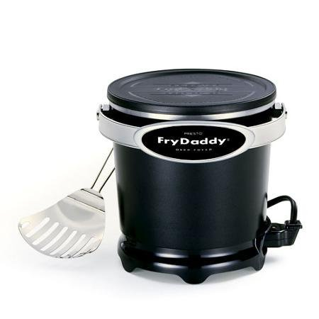 Presto Fry Daddy 4-Cup Electric Aluminum Deep Fryer, Non-Stick Surface