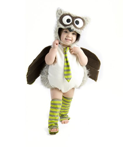 [Owl Infant/Toddler Costume(6-12 Months-As Shown)] (Infant Owl Halloween Costumes)