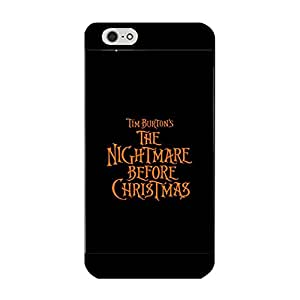 Fashion Poster The Nightmare Before Christmas Durable Phone Case for Iphone 6/6s 4.7 (Inch)