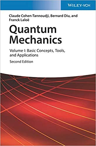 Quantum Mechanics Basic Concepts, Tools, And Applications