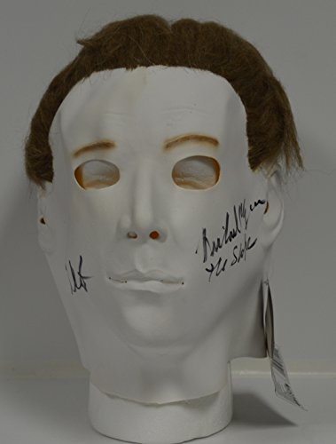 NICK CASTLE signed Halloween I Mask Michael Myers Full Size Adult HORROR (Halloween Movie Names)