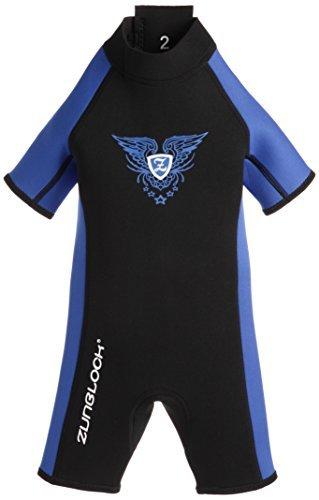 Zunblock Jungen Neoprenanzug, Mehrfarbig (schwarz/royal blau), 8070155, Gr. 110-116 (Herstellergröße:5/6 Jahre)
