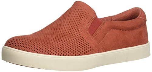 Dr. Scholl's Shoes Women's Madison Sneaker, Hotsauce Orange Cool Microfiber, 8.5 M US
