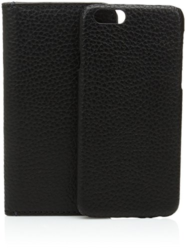 Fossil Men's Iphone 6 Black Leather Phone Wallet, One Size (Iphone 6 Fossil)
