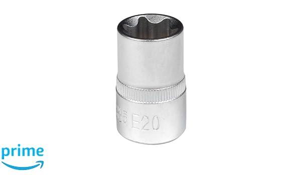 Sunex 9911b24 1//2 Drive E24 External Star Socket