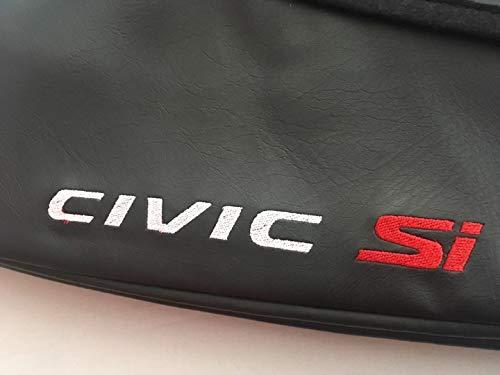 Cobra Auto Accessories Car Hood Mask Bra Civic SI Logo Fits Honda Civic Coupe Sedan 2016 2017 2018 2019