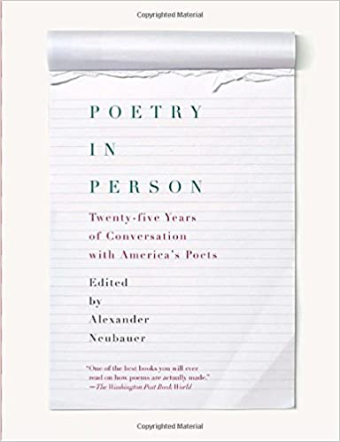 Book Poetry in Person: Twenty-Five Years of Conversation with America's Poets