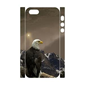 Animals Eagles 3D-Printed ZLB558973 Unique Design 3D Cover Case for Iphone 5,5S