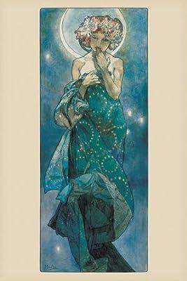 ALPHONSE MUCHA LAUREL 1901 OLD MASTER ART PAINTING PRINT POSTER REPRO 119OM
